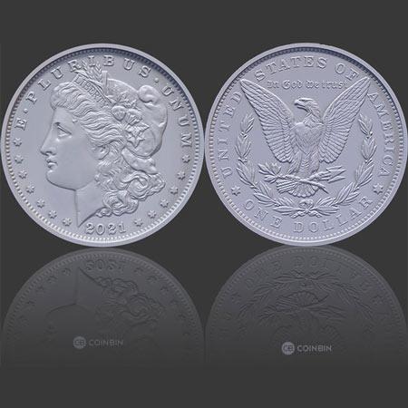 2021 Morgan Silver Dollars
