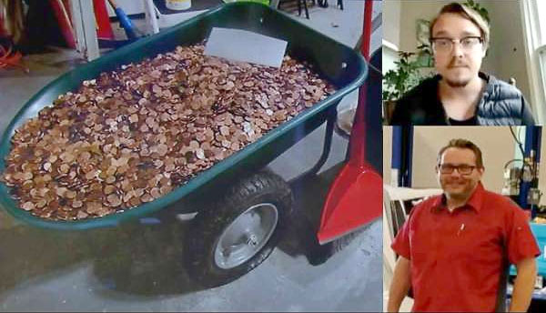 Paid $915 in Oil Covered Pennies